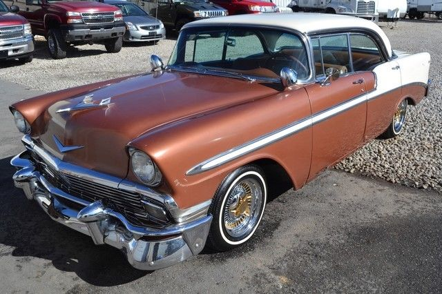 1956 chevrolet bel air 4 door hardtop increadible price for 1956 chevy belair 4 door for sale