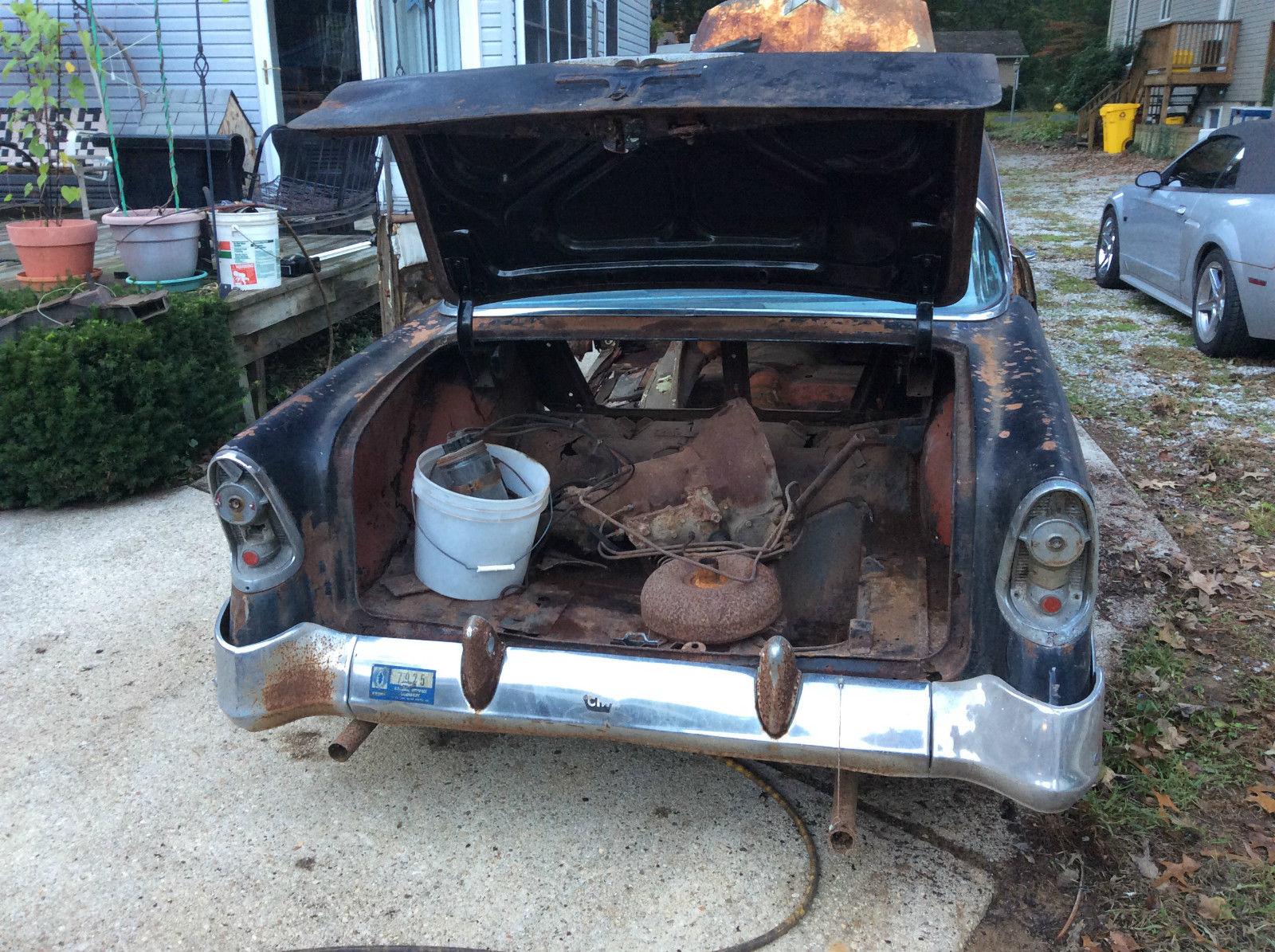 1956 Chevrolet Bel Air 4 Door Hardtop With Factory Ac And