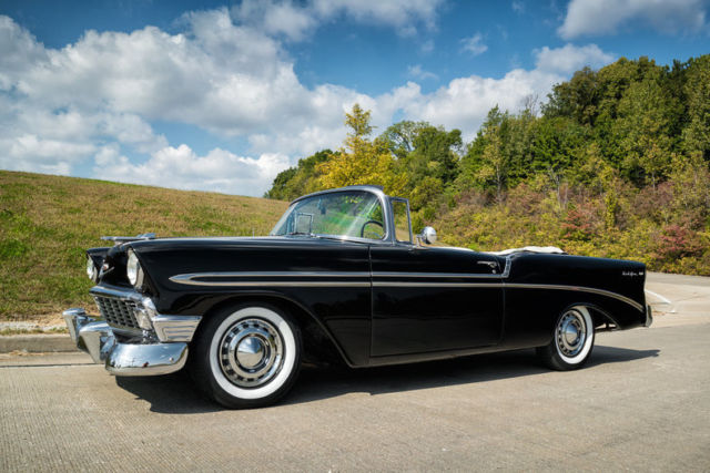 1956 chevrolet bel air convertible correct colors same owner for 30 years classic chevrolet. Black Bedroom Furniture Sets. Home Design Ideas