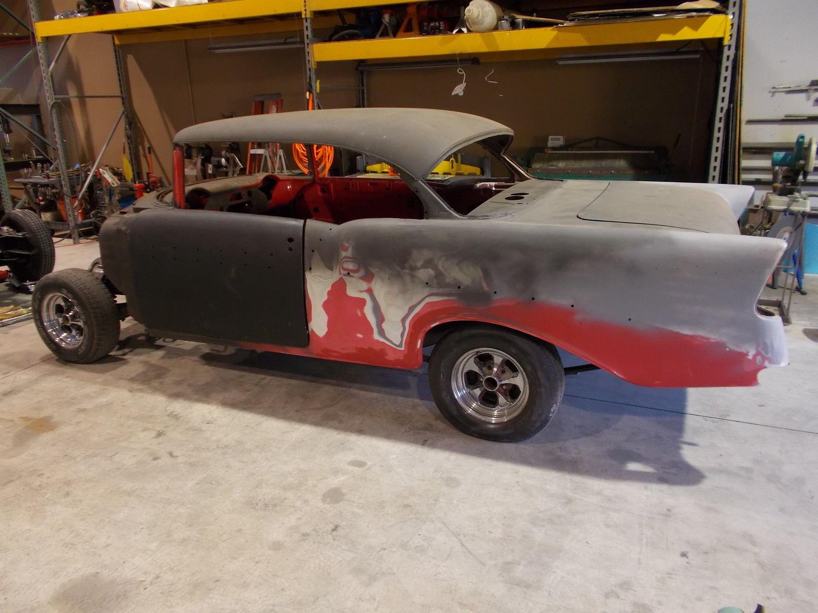 1956 Chevrolet Bel Air Sport Coupe 2 Door Hardtop Project