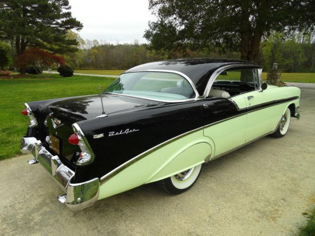 1956 chevrolet belair 4 door hardtop classic chevrolet for 1956 chevrolet 4 door hardtop
