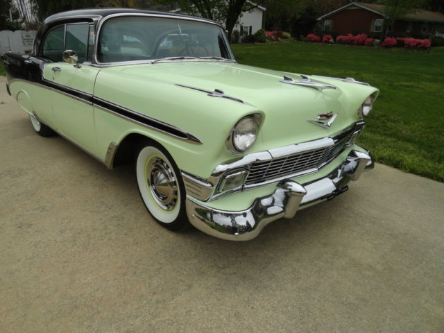 1956 chevrolet belair 4 door hardtop classic chevrolet for 1956 chevy 4 door for sale