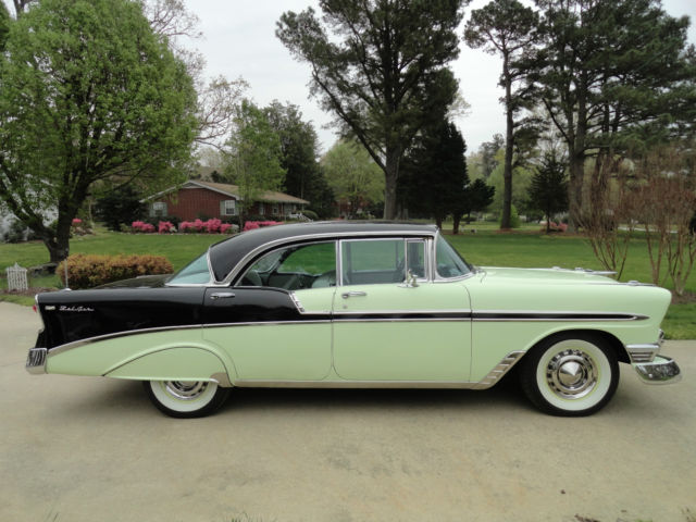 1956 chevrolet belair 4 door hardtop classic chevrolet for 1956 chevrolet belair 4 door