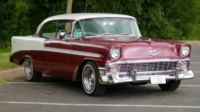 Belair Auto Auction >> 1956 Chevrolet Belair, 4-Dr. frame off restore. 350ci, Auto - Classic Chevrolet Bel Air/150/210 ...