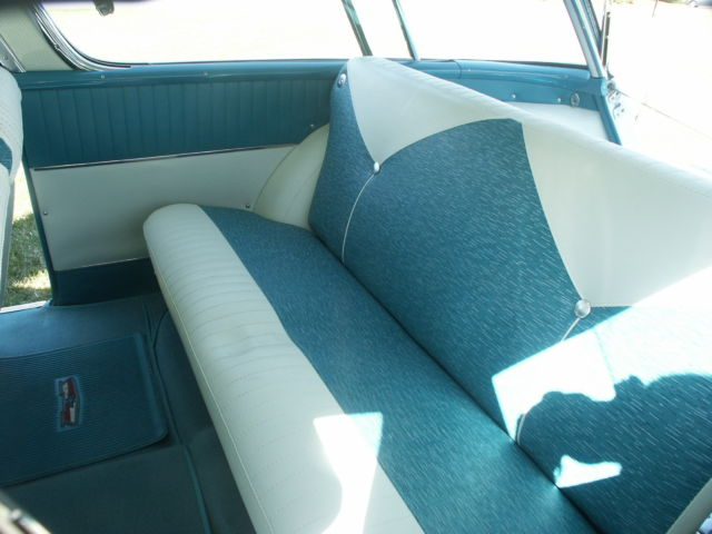 Awesome 1956 Chevrolet Nomad 2 Dr Wagon Twilight Turquoise Ivory Beutiful Home Inspiration Semekurdistantinfo