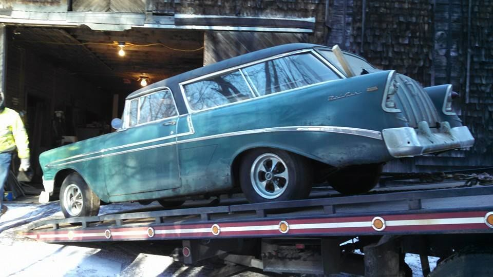 1956 Chevrolet Nomad Barn Car Project Car Classic