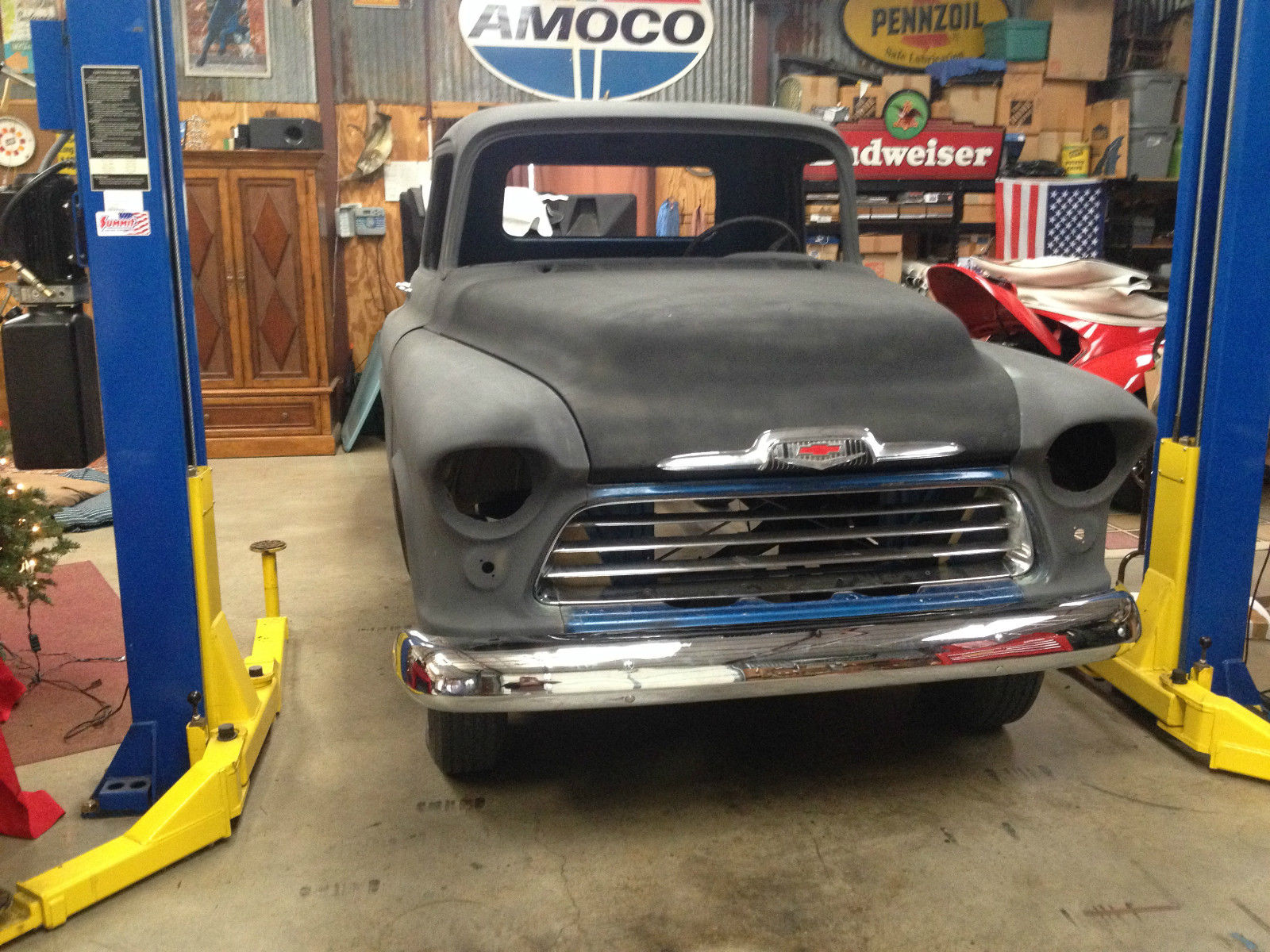 1956 Chevrolet Truck Project Classic Other Pickups 1957 Chevy Camaro Clip