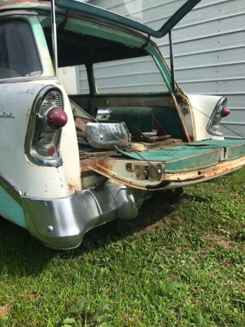 Used Cars Charleston Wv >> 1956 CHEVROLET WAGON Montana Farm Car - Classic Chevrolet ...