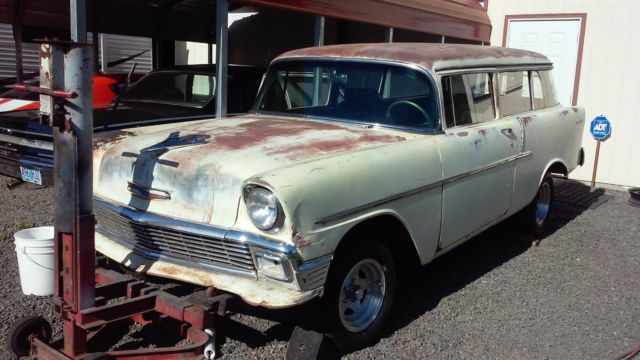 1956 Chevy 2 Door Wagon 150 Model Classic Chevrolet Bel