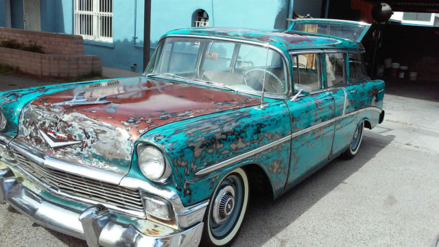 Cars For Sale El Paso >> 1956 Chevy 210 4 door wagon - Classic Chevrolet Bel Air ...