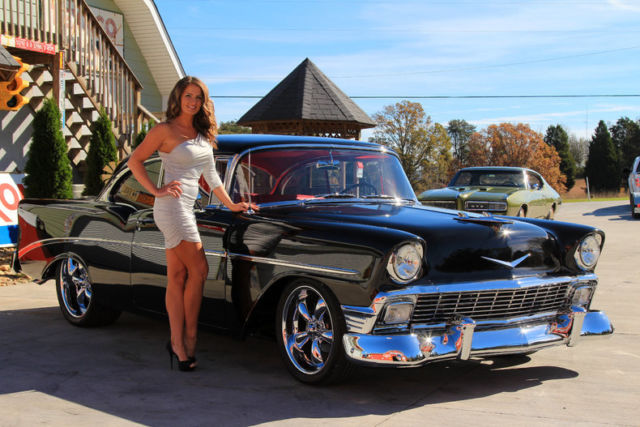 1956 Chevy 210 Hard Top LS 6.0 4L60E 4WPDB Air Condition Power Steering - Classic Chevrolet Bel ...