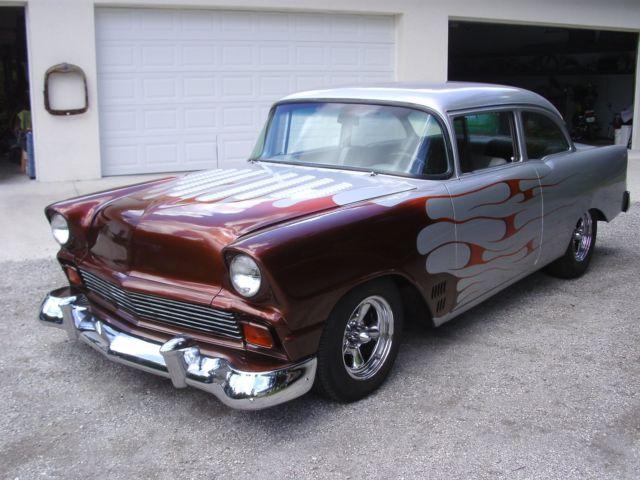 1956 Chevy 3 Door Post Custom Classic Chevrolet Bel Air