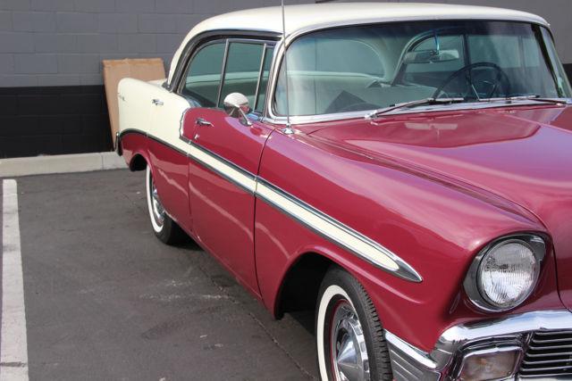 1956 chevy bel air 4 door hardtop sport sedan classic for 1956 chevy four door hardtop