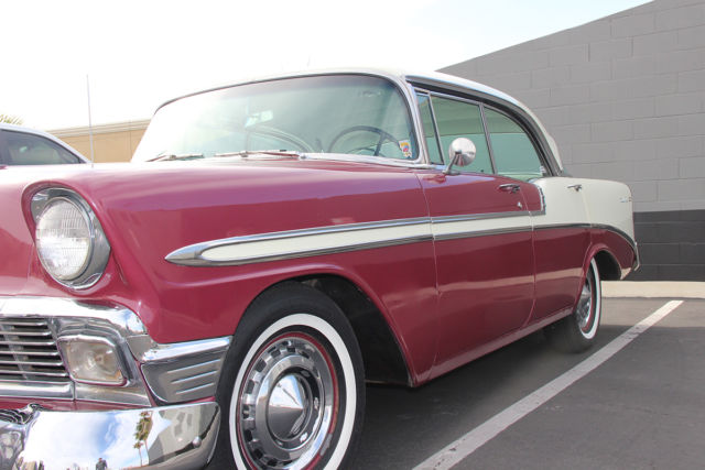 1956 chevy bel air 4 door hardtop sport sedan classic for 1956 chevy 4 door sedan