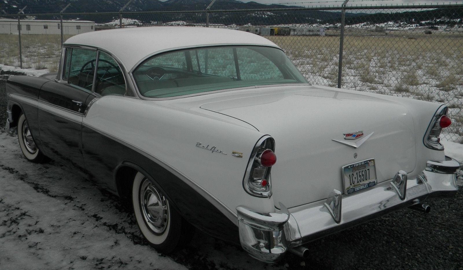 1956 chevy belair 2 door hardtop low mile original for 1956 chevy 2 door hardtop for sale