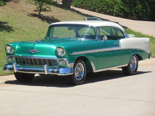 1956 chevy belair 2 door hardtop professional level build for 1956 belair 2 door