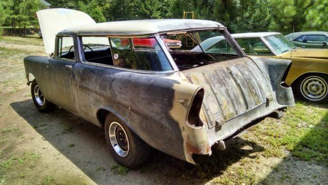 1956 Chevy Nomad Project Classic Chevrolet Nomad 1956