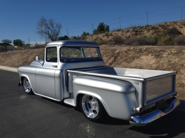 1956 chevy pickup truck big window shortbed classic chevrolet other pickups 1956 for sale. Black Bedroom Furniture Sets. Home Design Ideas