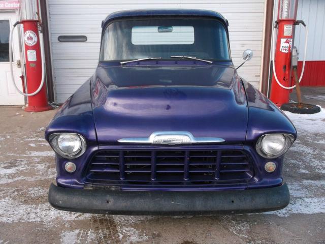 1956 Chevy Pickup Truck Street Rod 327 V8 Automatic Tranny