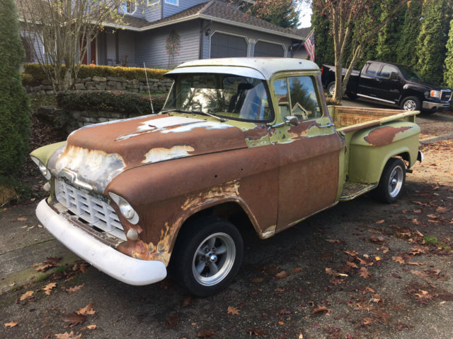 1956 chevy truck 3200 big window classic chevrolet other 1956 for sale. Black Bedroom Furniture Sets. Home Design Ideas
