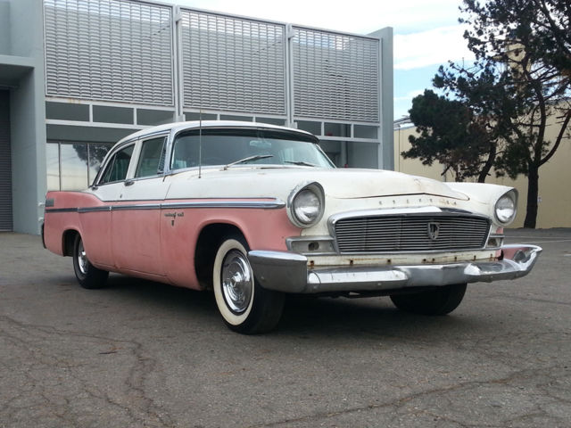 1956 chrysler new yorker 4 door sedan hemi 354 cu in v8 for 1956 chrysler new yorker 4 door