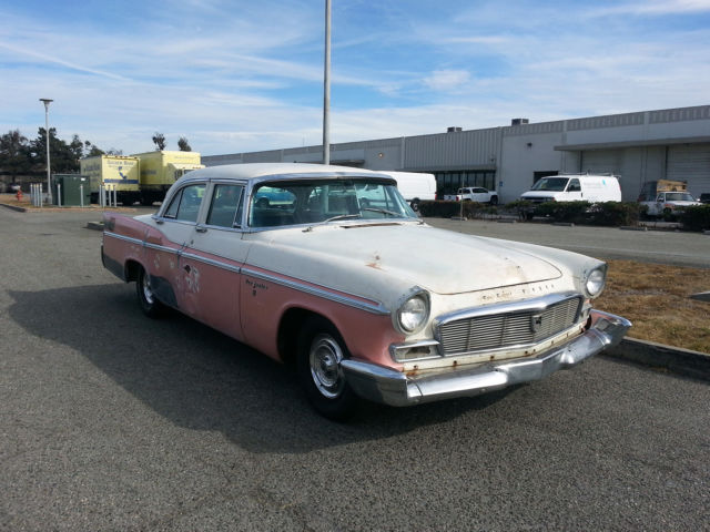 1956 chrysler new yorker 4 door sedan hemi 354 cu in v8
