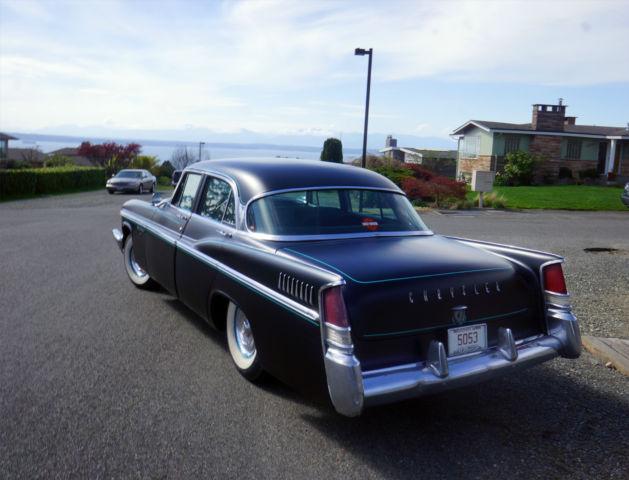 1956 chrysler new yorker hemi v8 pushbutton at satin for 1956 chrysler new yorker 4 door
