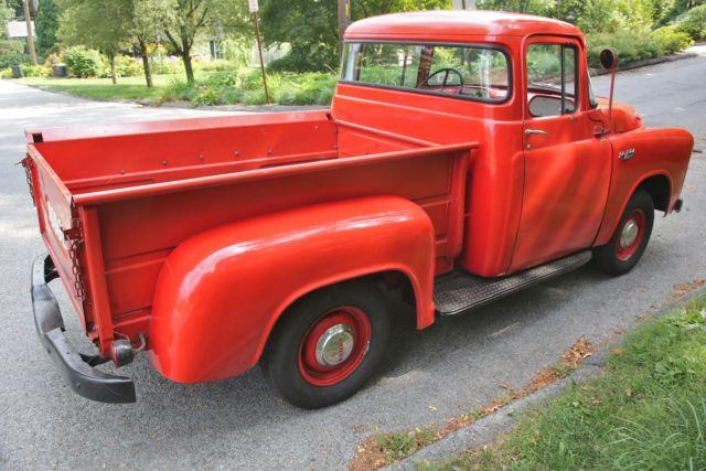 1956 Dodge 1 2 Ton Pickup Custom Regal C 3 B6 108 Quot Wb