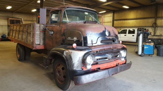 1956 Ford Cabover Coe Custom Cab C-600 - Classic Ford ...