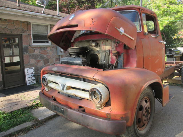 Used Cars Orillia >> 1956 Ford COE Project ramptruck custom pickup car carrier patina rustfree - Classic Ford Other ...