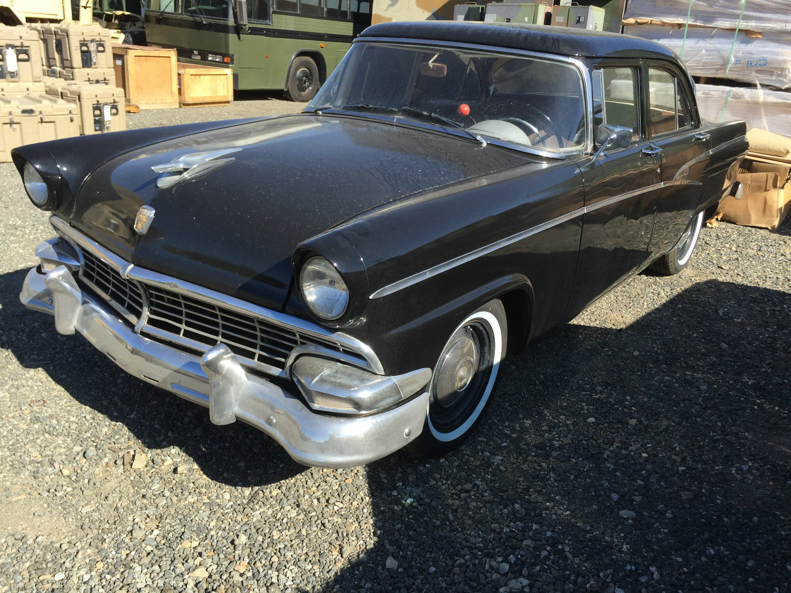 1956 ford customline 6 cyl 4 door classic ford other for 1956 ford customline 2 door hardtop