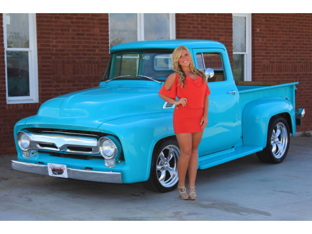 1956 Ford F100 HOLIDAY SALE PS PDB AC V8 Overdrive Trans ...