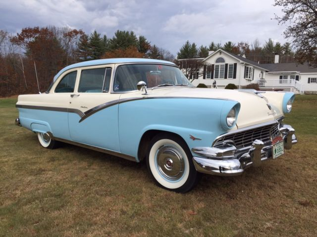 Image gallery 1956 ford coupe for 1956 ford crown victoria 2 door coupe