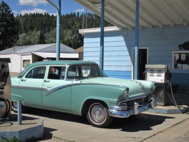 1956 Ford Fairlane Town Sedan With The Thunderbird V8