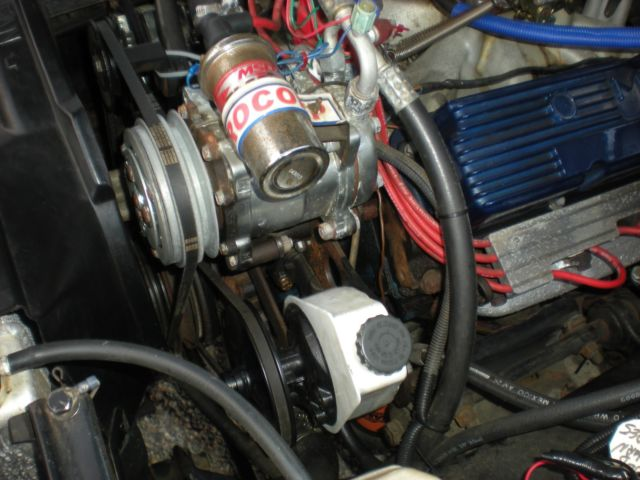 1956 Ford Modified 390 Engine C6 Power Steering Ac