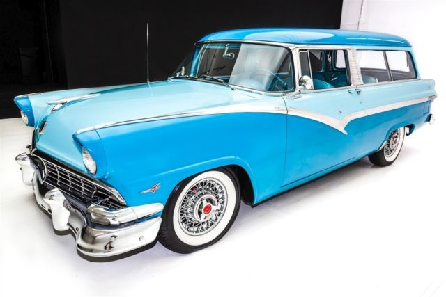 1956 ford parklane 2 door wagon v8 very rare manual for 1956 ford 2 door station wagon