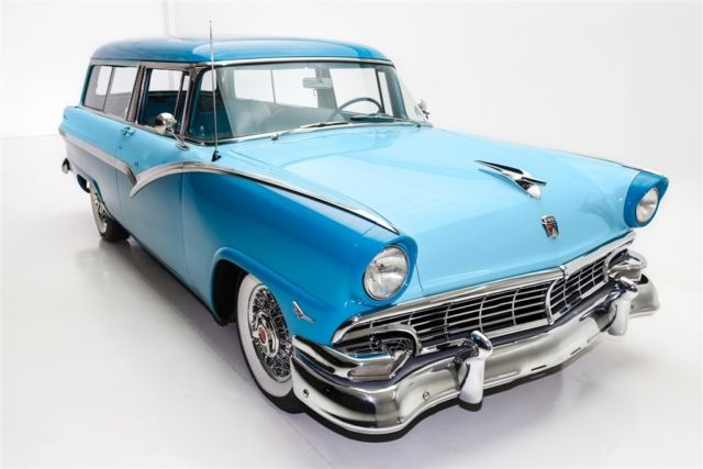 1956 ford parklane 2 door wagon v8 very rare manual for 1956 ford wagon 2 door