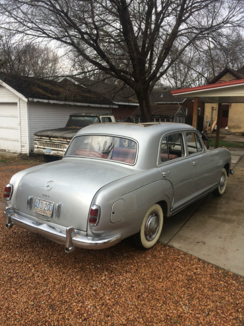 1956 Mercedes 220 Ponton Quot Full Webasto Sunroof Car