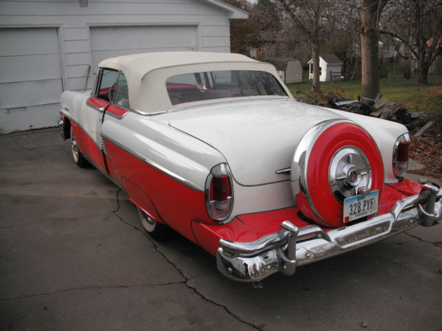 How To Sell A Car Without Title >> 1956 Mercury Montclair Convertible ps,pb,pw,continental kit,town & country radio - Classic ...