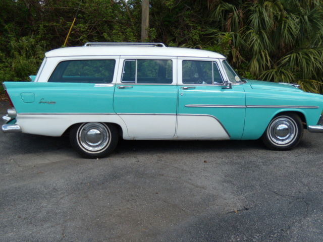 1956 Plymouth Suburban Custom Station Wagon California Car