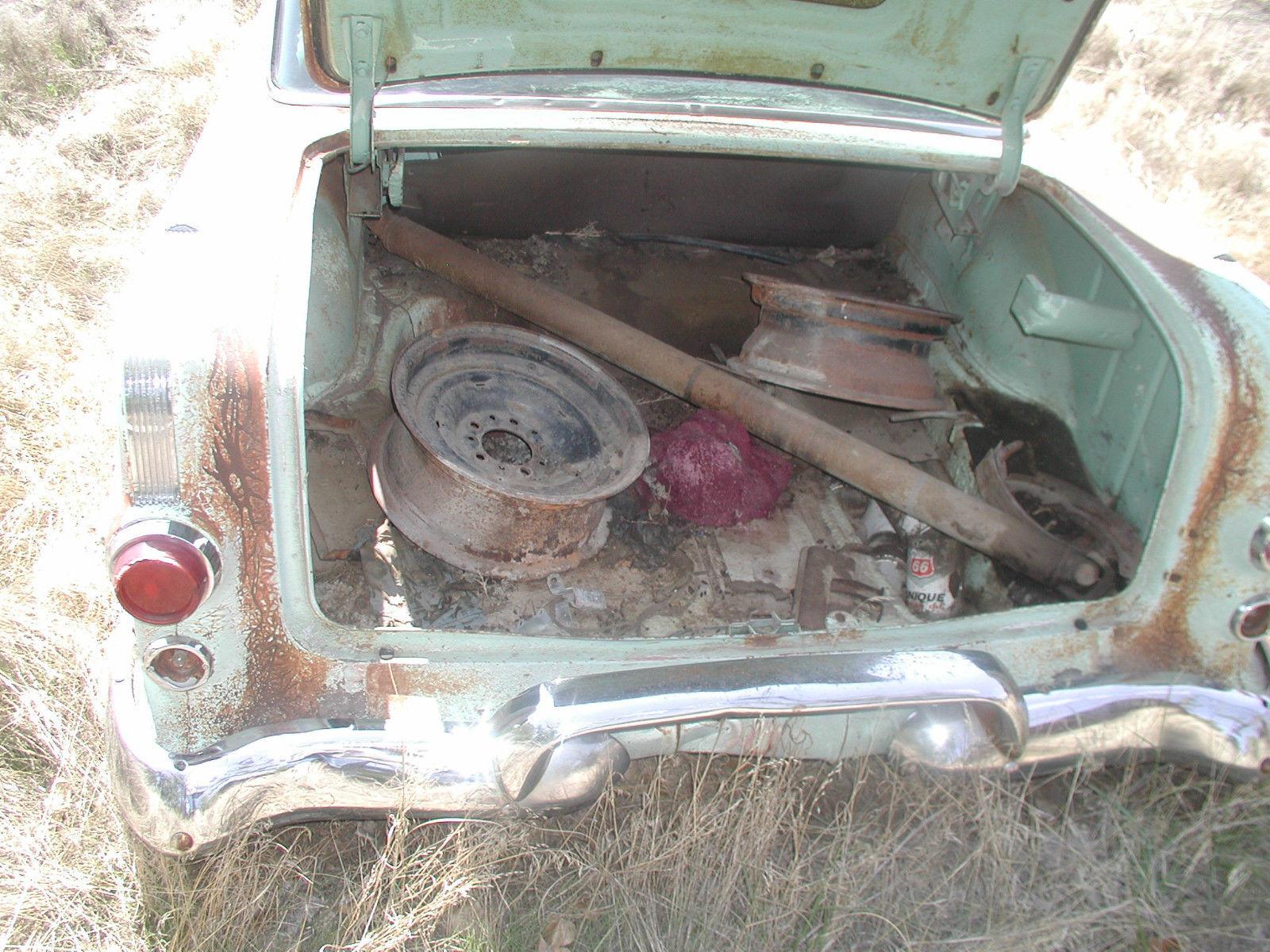 1956 Pontiac 2 Door Post Classic Rat Rod 55 Chevy Parts