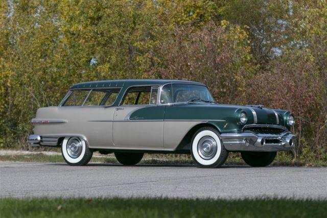 1956 Pontiac Safari Wagon Complete Restoration Custom