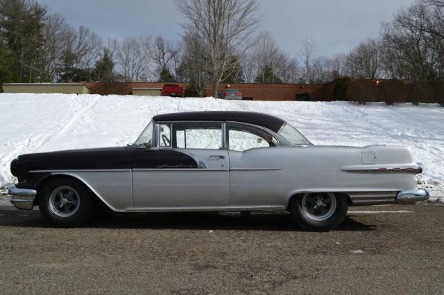 1956 pontiac star chief custom catalina 2 door hardtop tripower 4speed oldschool classic. Black Bedroom Furniture Sets. Home Design Ideas