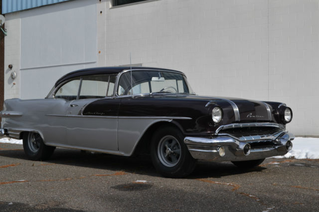 1956 Pontiac Star Chief Custom Catalina 2 Door Hardtop