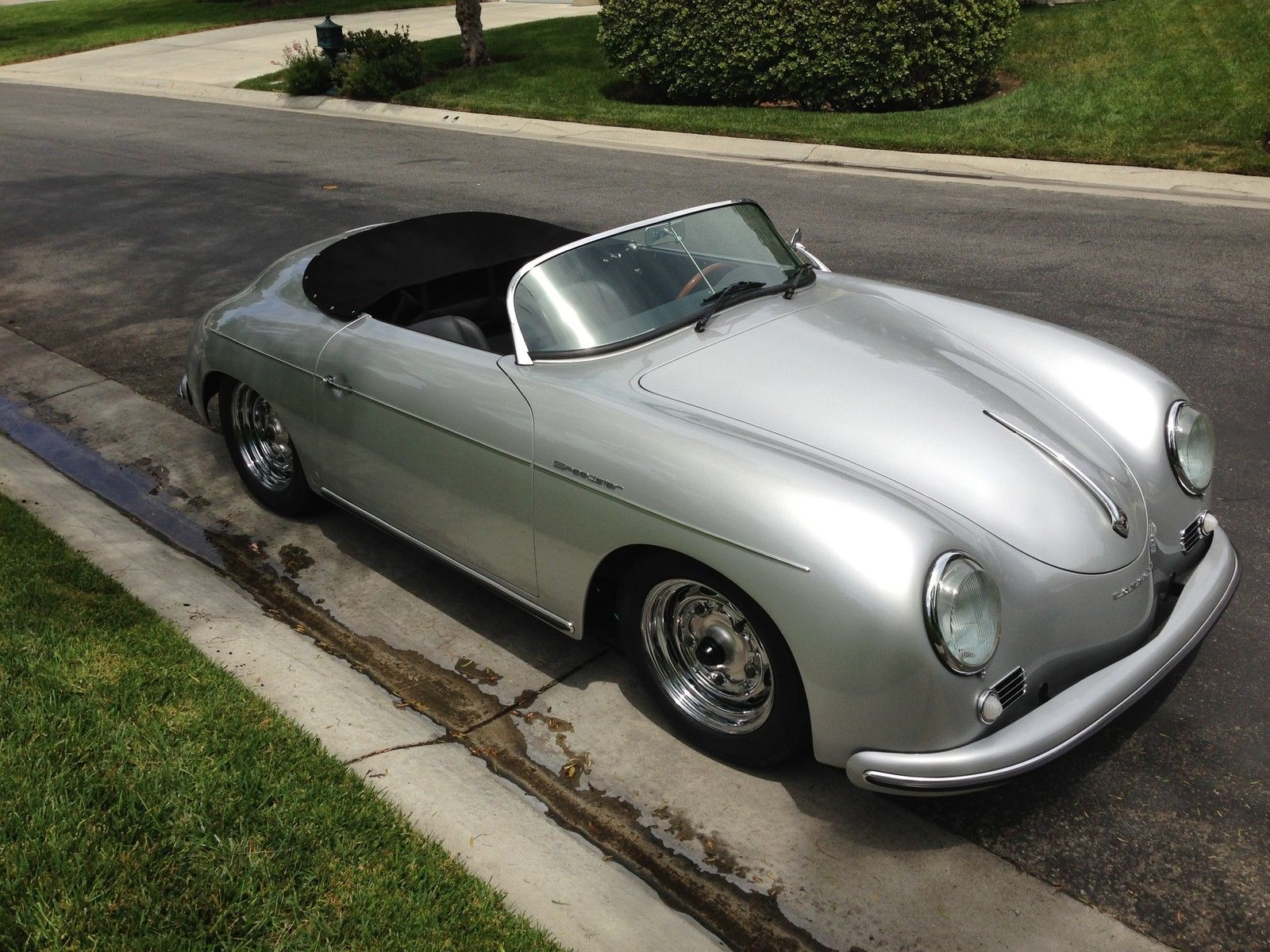 1956 Porsche 356 Speedster Roadster Replica By Vintage