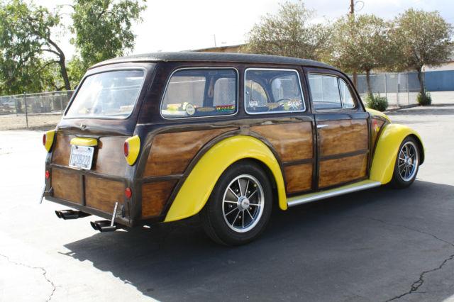 1956 VW Custom Woody Wagon Volkswagen Beetle Oval Window Bug NO RESERVE!! - Classic Volkswagen ...