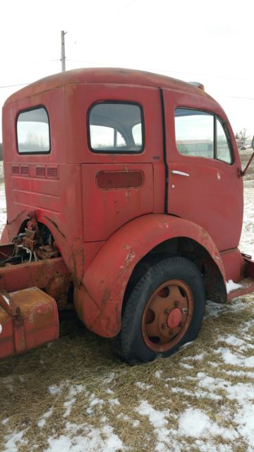 1956 White Cabover Semi Truck Classic Other Makes White