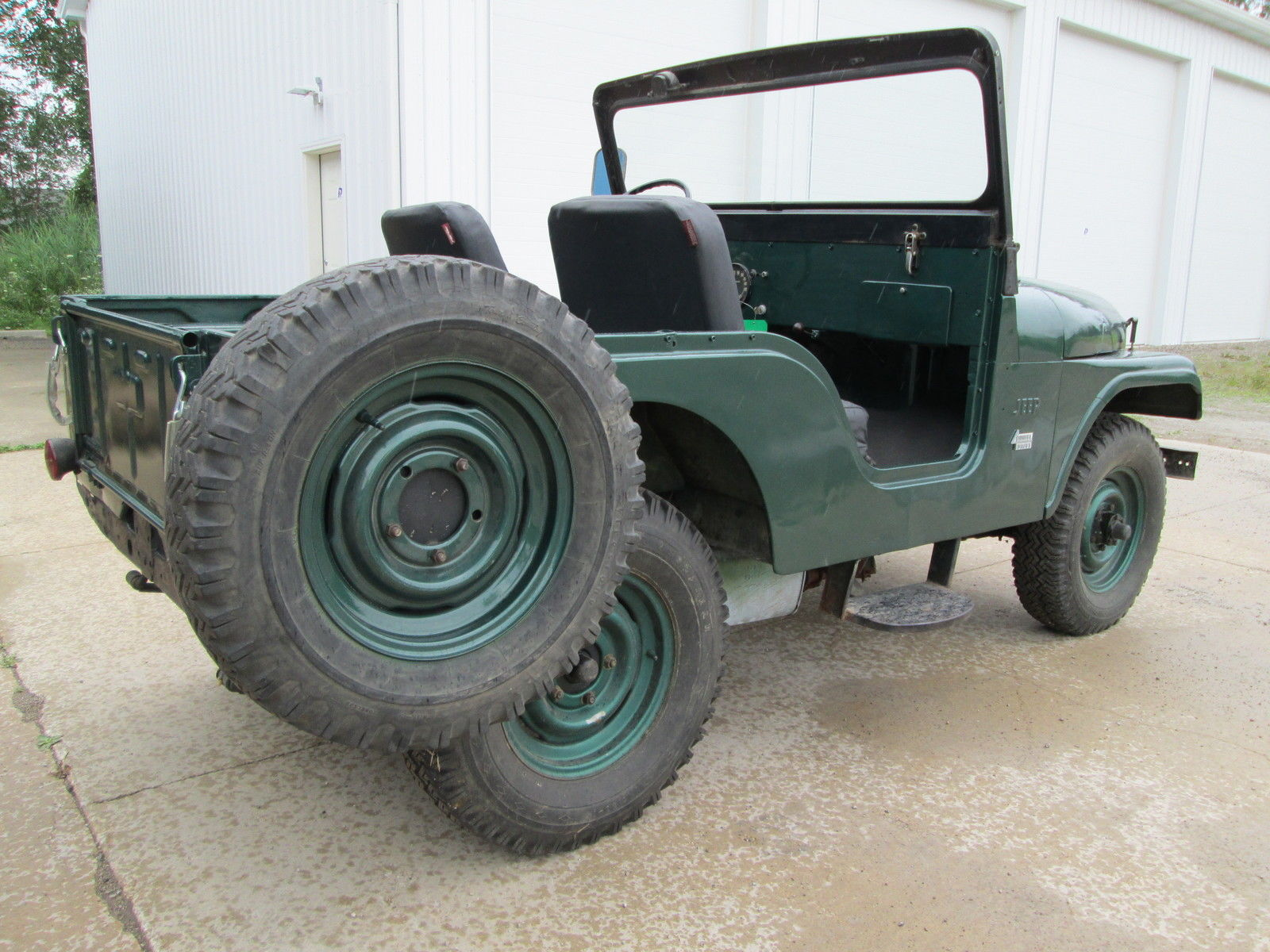 1956 Willys Jeep Cj5 Civilian Stored Indoors Classic
