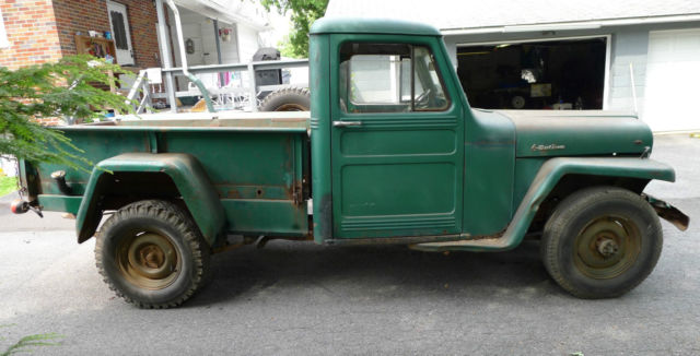 1956 Willys Pickup with Chevy 283 V8, Jeep, Scrambler ...