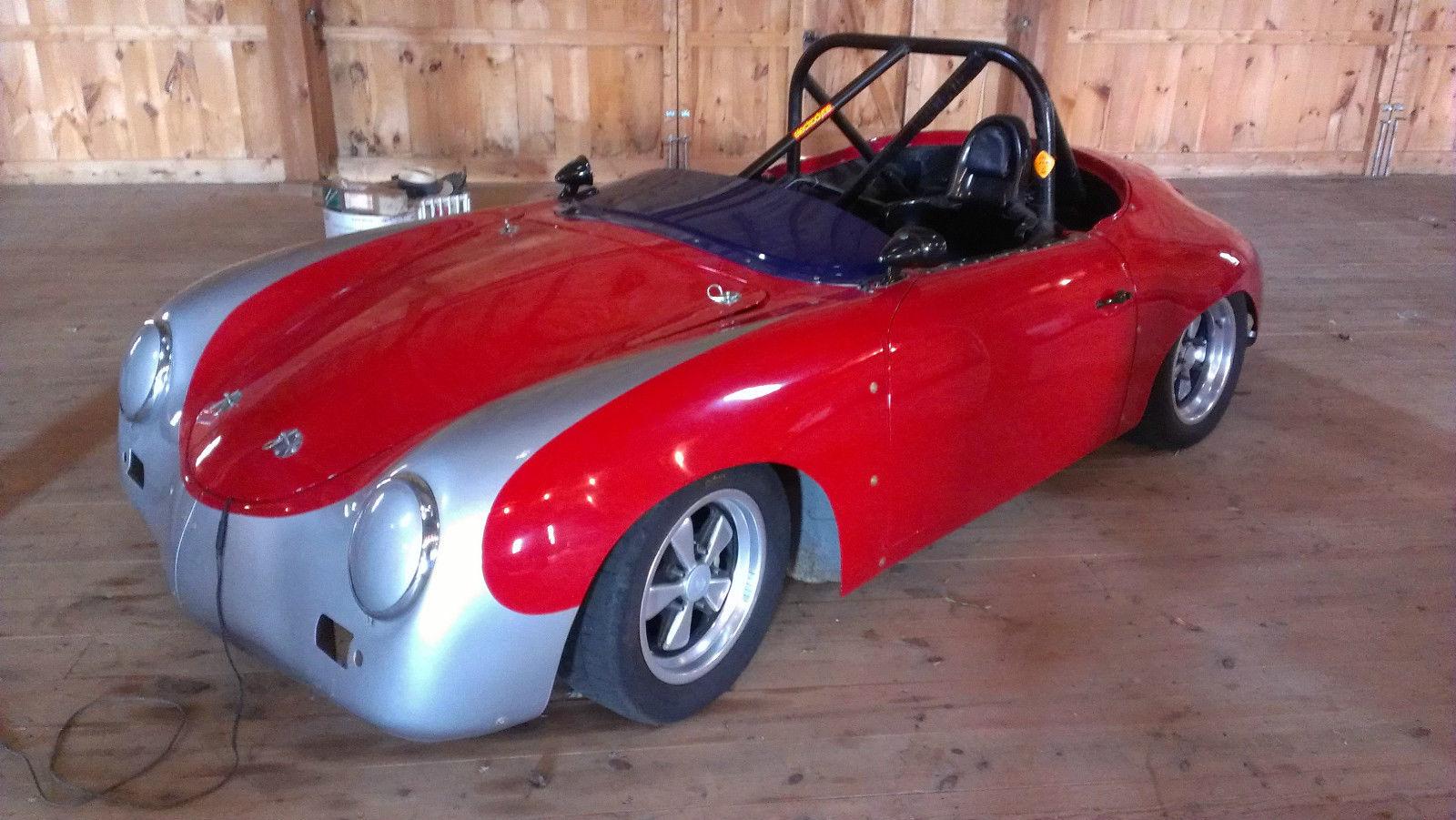 1957  356 porsche race car